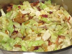 Fried Cabbage with Bacon and Onions   The Hungry Hoarder