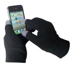 Rękawiczki Touchscreen Gloves posiadają po dwa palce wykonane z materiału, który wyczuwają urządzenia mobilne, ale równocześnie doskonale utrzymują ciepło! Od teraz możesz pisać i dzwonić w najgorszą pogodę, a twoje dłonie nie zmarzną.
