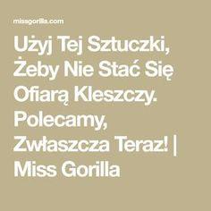 Użyj Tej Sztuczki, Żeby Nie Stać Się Ofiarą Kleszczy. Polecamy, Zwłaszcza Teraz! | Miss Gorilla