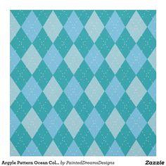 http://www.zazzle.com/argyle_pattern_ocean_colors_fabric-256903591572217293