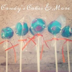 Sully cake pops