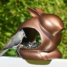 Enchanted Rabbit Bird Feeder