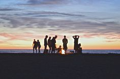Would you like to go camping? If you would, you may be interested in turning your next camping adventure into a camping vacation. Camping vacations are fun and exciting, whether you choose to go ca… Camping Spots, Beach Camping, Camping Hacks, Beach Bonfire, Outdoor Camping, Camping Supplies, Camping Outdoors, Bonfire Food, Camping Guide