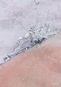 Carinnya Feaunati, Beyond the Reef: Return to Paradise: Sa'anapu Samoa, 2014, Watercolour, Ink pen, Digital.