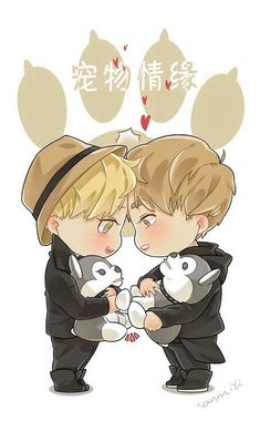 """Let's shake hands."" - said Taoris on EXO Showtime"