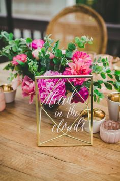 geometric inspired wedding - photo by Melissa Biador http://ruffledblog.com/mixed-metals-wedding-in-la-jolla