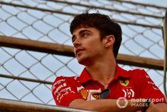 Charles Leclerc says his sights are set on winning two Formula 1 grands prix next year during his first season with Ferrari. F1 Racing, Drag Racing, Ferrari F12berlinetta, Mick Schumacher, Nissan 370z, Lamborghini Gallardo, F1 Drivers, F 1, Maserati
