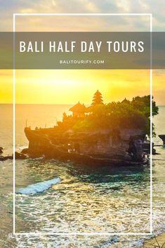 Bali Half Day Tour Offer | Best Bali Short Day Trip Itinerary  Best Bali half day tour package, Bali short day trip experience (5 - 6 hours) to visit the beautiful Bali destinations, Bali private tour service and Bali car with driver hire.  Bali Half Day Tours Packages   1. Bali Ubud Tour  2. Bali Tanah Lot  Sunset Tour  3. Bali Uluwatu Tour  4. Bali Denpasar City Trip  5. Bali Tanah Lot Morning Tour  6. Bali Uluwatu Morning Tour   Click the image to read more!
