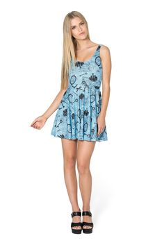 Vintage Alice Scoop Skater Dress by Black Milk Clothing $95AUD