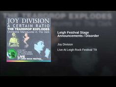 All Night Party (Live At Leigh Rock Festival Rock Festivals, 1 Live, Joy Division, Post Punk, To Youtube, Disorders, Announcement, The Darkest, Music Videos