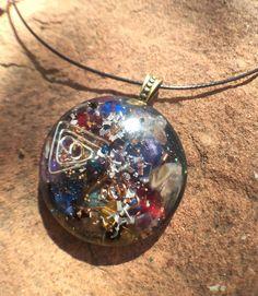 Holiday sale forgiveness karma clearning orgonite pendant fairy kaleidoscope magic orgone orgonite vortex necklace orgone gazing stone mozeypictures Images