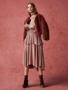 イレギュラーデザインワンピース(膝丈ワンピース) snidel(スナイデル) ファッション通販 ウサギオンライン公式通販サイト