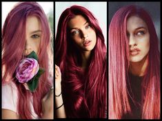 The rosy hue is lighter than magenta but brighter than pink. The images show the tone over ash blonde, light red, and strawberry blonde bases. Tips: Shampoo hair and towel dry. If hair is more than two shades lighter than the target color you may need to use a filler formula (water mixed 3:1 with 8K works well for most scenarios). Apply the formula from roots to ends and process for 25 minutes before rinsing and conditioning. Natural level 7 Colorance 1 part 7RR + 1 part 7PK + 1 part 7RO…