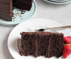 The Best Chocolate Cake. Ever. - Hip Foodie Mom