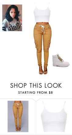 """""""Untitled #180"""" by briajohnson ❤ liked on Polyvore featuring Topshop and Timberland"""