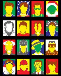 As muitas faces de Carrey.