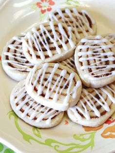 Cinnamon Roll Sugar Cookies Recipe - Vegan, Gluten-free, Dairy-free, and Free of Top Allergens (so fun to bake!)