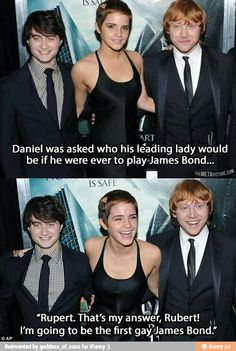 If Daniel Radcliffe Played James Bond