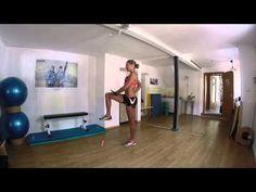 Laufen ist balancieren auf einem Bein. Übung: Reach Outs - YouTube