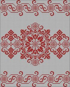 This Pin was discovered by mil Cross Stitch Borders, Cross Stitch Rose, Cross Stitch Flowers, Cross Stitch Designs, Cross Stitching, Cross Stitch Patterns, Blackwork Embroidery, Cross Stitch Embroidery, Embroidery Patterns