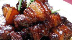 Although it's a common Chinese dish, hongshao rou (red-braised pork) can be tricky to master. The key is to use two different types of soy sauce — light and dark.