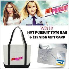HOT PURSUIT Giveaway 5/11