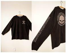 Free Shipping! Vintage Harley Davidson Sweatshirt Size 2XL, Vintage  Harley Davidson Shirt, Skull Harley Sweater, Graphic Tee, Vintage Shirt by hisandhervintage on Etsy