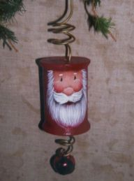 Spool Santa Ornament pattern packet