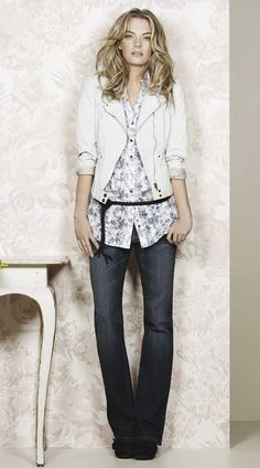 Women's Fashion - Love the colors in this fall inspired outfit!