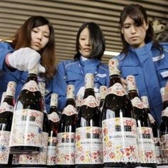 First Beaujolais Nouveau shipment arrives in Japan