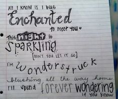 "Taylor Swift, ""Enchanted"""
