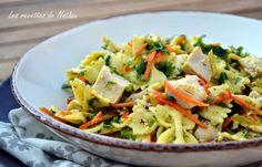 Les recettes de Nathou: Salade de pâtes au poulet, vinaigrette moutarde et...