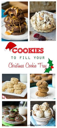 Favorite Christmas Cookies   {Giveaway} >> by Tastes of Lizzy T's. Pick your prize Giveaway, plus our favorite Christmas cookie recipes!