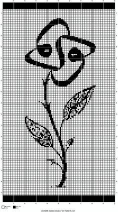 . Cross Stitch Letters, Cross Stitch Rose, Cross Stitch Flowers, Cat Cross Stitches, Cross Stitching, Cross Stitch Embroidery, Tapestry Crochet, Filet Crochet, Knitting Designs