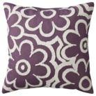Target Home™ Floral Shell Applique Pillow - Purple-Target