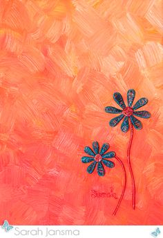 Wire Art by Sarah Jansma  butterflyonblue.com 9 x 12 inches