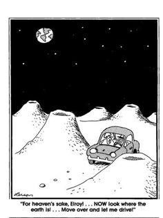 The far side- Gary Larson-he obviously knew my sister!