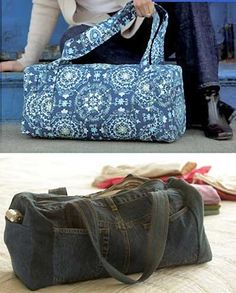 Ideal Duffle Bag - PDF Pattern by Indygo Junction