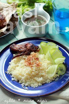 masam manis: NASI AYAM PLANTA Spicy Dishes, Chicken Rice, Asian Recipes, Menu, Food, Kitchens, Menu Board Design, Arroz Con Pollo, Asian Food Recipes