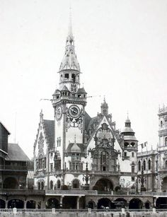 The German pavilion at the Exposition Universelle in 1900, Paris
