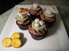Dim Sum Cupcakes