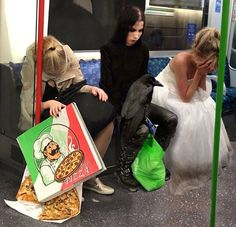 Just another day on the subway < the holy Trinity