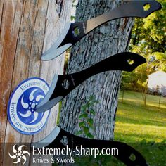 Diablo Thigh Style Throwing Knife Set 6 Knives - Extremely-Sharp.com - 1