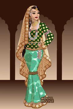 jodha bai in mughal dress 1