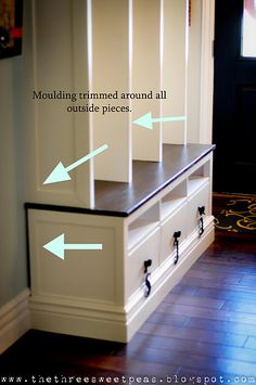 DIY Custom Lockers- Ikea Hemnes Hack