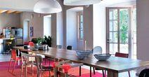 large kitchen- dining