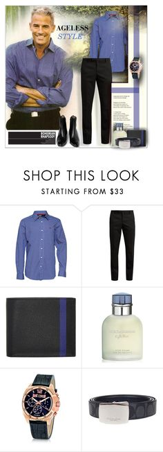 """""""AGELESS STYLE"""" by angelflair ❤ liked on Polyvore featuring Yves Saint Laurent, Valextra, Trilogy, Dolce&Gabbana, Just Cavalli, men's fashion and menswear"""