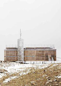 Hut Architektury Martin Rajnis | Nová Česká Poštovna Na Sněžce | 2008 | http://www.hutarchitektury.cz/