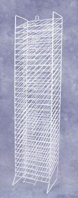 www.mediashelving.com: 30 Slot Paper Rack, Various Colors $89 I SO WANT THIS!!!