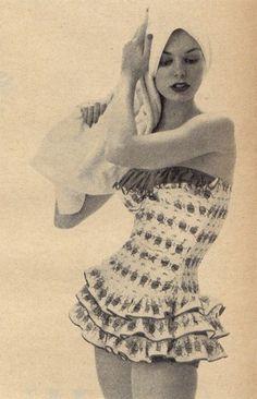 Da Donna anni/'50 Volant Calzini anni 1950 Bobby Calze Costume Bianco Nero Rosso Rosa